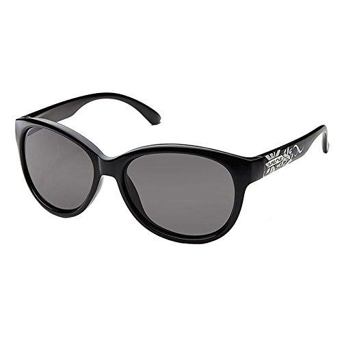 Suncloud Catnip Polarized Sunglasses, Black Frame
