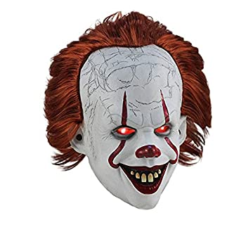 Creepy Pennywise clown IT mask suitable for Halloween costumes masks or role-playing props