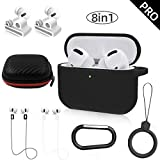 TOLUOHU AirPods Pro/3 Charging Case 8in1 for Airpods Pro Accessories Kits...