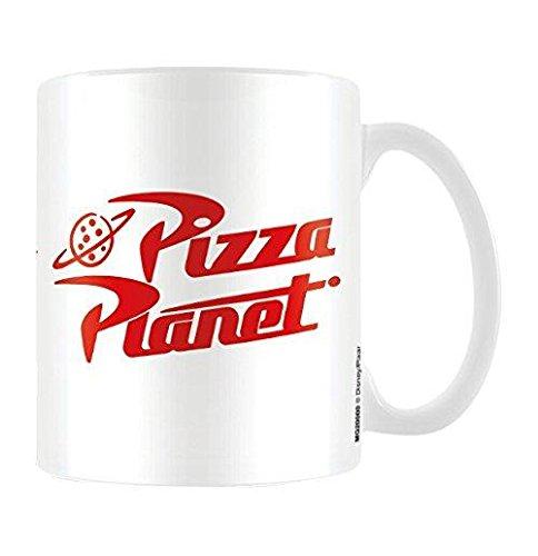 Disney Pixar Toy Story, Pizza Planet Taza de cerámica, Multicolor