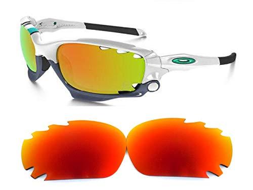 Galaxylense lentes de repuesto para Oakley Jawbone Bombero Color Rojo Polarizados,GRATIS S & H, Rojo,