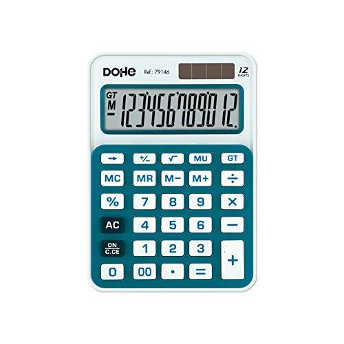 Delege rekenmachine, klein, blauw