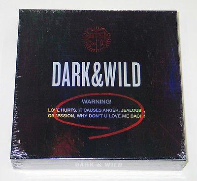 BTS 1st Album [Dark and Wild] |