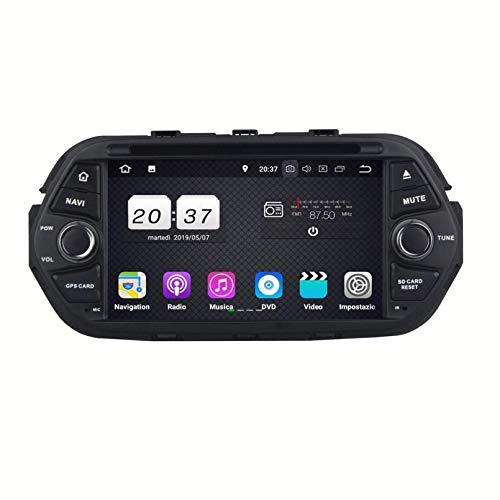 7 Pollici Touchscreen Lettore DVD Android 8.1 Autoradio per Fiat Tipo Egea(2016-2020), Navigazione GPS DAB+ Radio Bluetooth