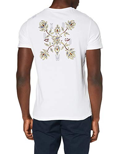 Oxbow M2TRUNE Tee shirt Homme, Blanc, FR (Taille Fabricant : 4XL)
