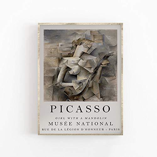原文 Póster de arte de Picasso, impresión de calidad sup