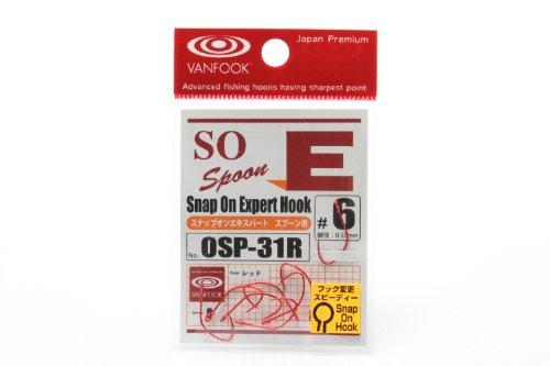 VANFOOK(ヴァンフック)  スナップオンエキスパート OSP-31R スプーン用 (ミディアムワイヤー)  8本入り #6 ...