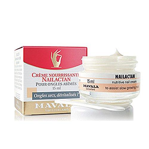 Mavala Nailactan (TiegeL), Nährende Nagelcreme für beschädigte und brüchige Nägel, 15 ml