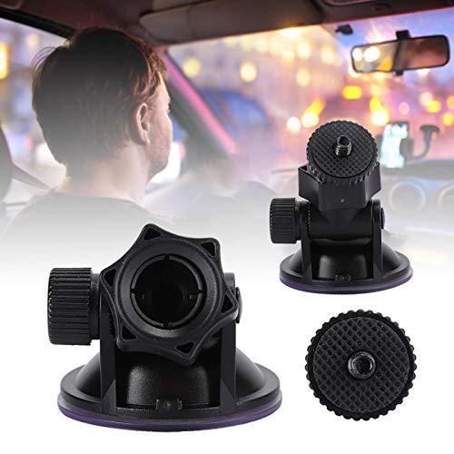 Demeras Soporte de grabadora de conducción con Ventosa de vacío Soporte de Coche razonable de 55 mm -10 ℃ 2 Piezas para grabadora de conducción