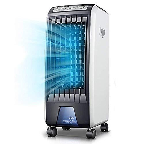Kleine Klimaanlage Tragbare Klimaanlage 5 In 1 Kompaktluftkühler |Heizung |Luftbefeuchter |Lüfter |Luftreiniger mit Lüfterfilter, LED-Panel, 3-Gang, 7-l-Wassertank,