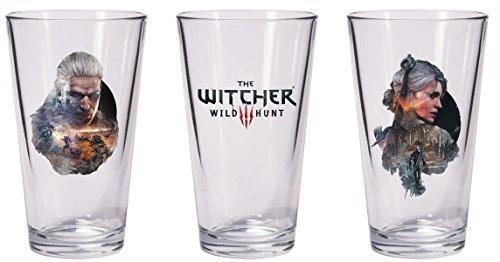 Dark Horse Deluxe der Witcher 3Wild Hunt Geralt & Ciri Pint Glas Set
