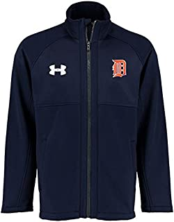Under Armour Under Armour Detroit Tigers Navy Traid Full-Zip Performance Jacket スポーツ用品 【並行輸入品】