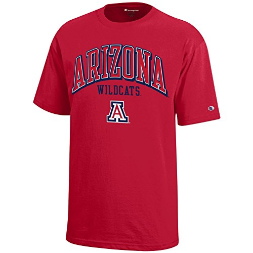 NCAA Champion Boy's Short Sleeve Jersey T-Shirt Arizona Wildcats Medium