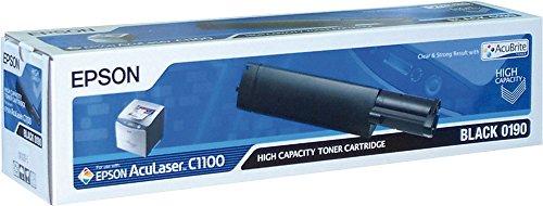 Epson Cartucho de tóner AL-C1100/CX11 negro alta capacidad 4k - Tóner para impresoras láser (Laser cartridge, 4000 páginas, Negro, 1 pieza(s))