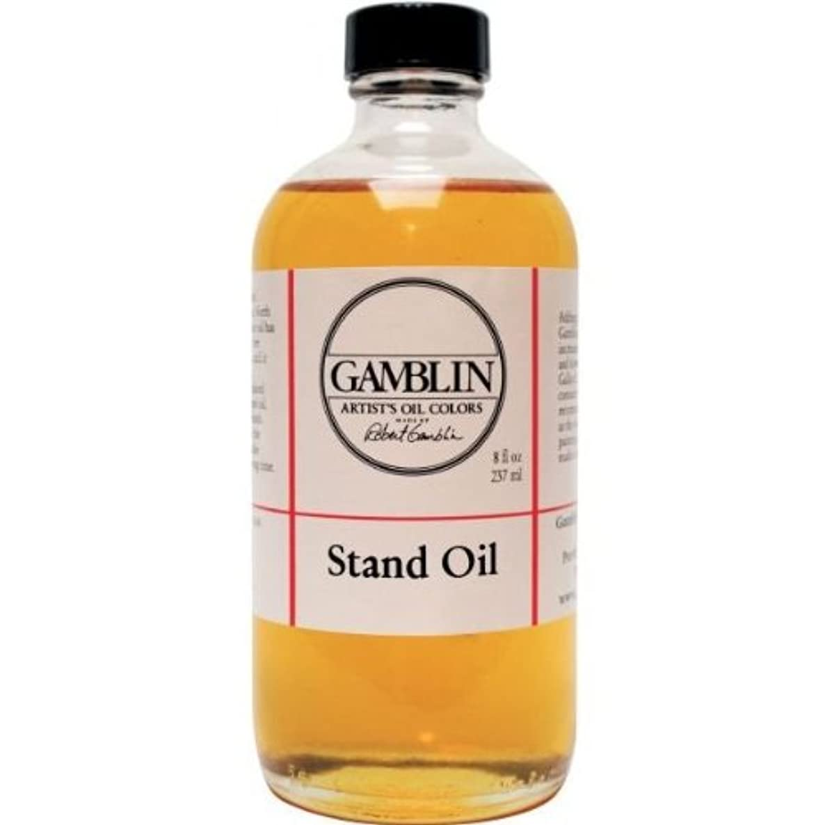 3M Gamblin Stand Linseed Oil 8 Oz (G08008)