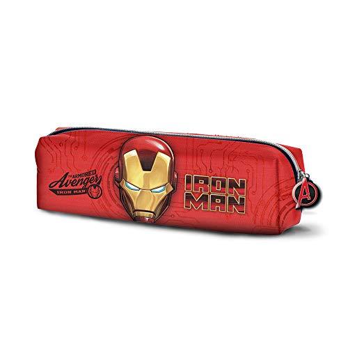 Iron Man Armour-Estuche Portatodo Cuadrado