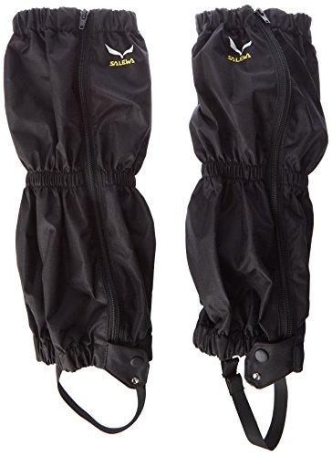 SALEWA Hiking Gaiter M, Adultos Unisex, Negro, Uni