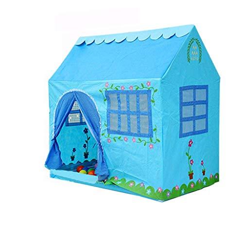 CSQ Gran Tienda de la casa, los niños Juguetes de Hadas del bebé de la impresión Floral Carpa Carpa Princesa Prince Castle Viaje Carpa Esencial Casa de Juegos para niños (Size : 120 * 75 * 115CM)