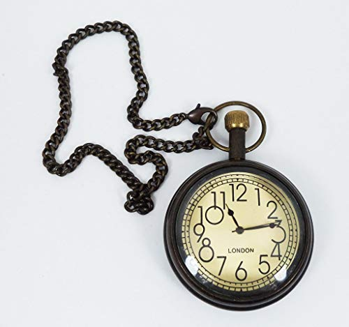Hermoso Reloj de Bolsillo de Londres con batería Hecha a Mano