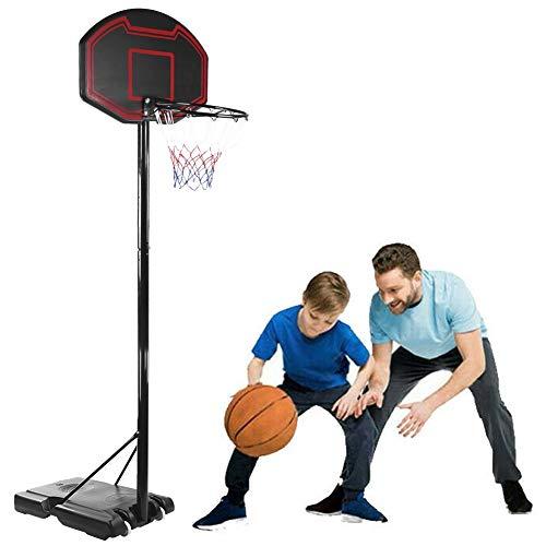 YNEFY Portable Basketball Hoop & Goal Stand