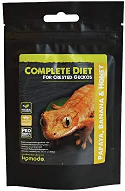 Komodo - Crested Gecko Complete Diet - Papaya, Banana & Honey 60g
