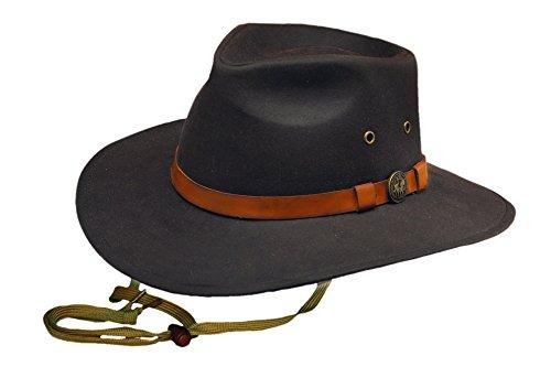 Outback Trading Kodiak Hat, Brown, Large