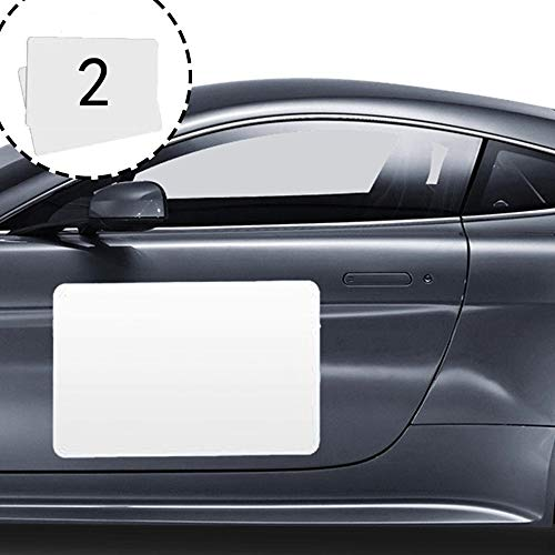2 Pack Blank Magnets, Suitable for Automobile Advertisement, Scratch Resistant Magnetic Logo, Repeatable Scribble and Cut Automobile Blank Car Magnets