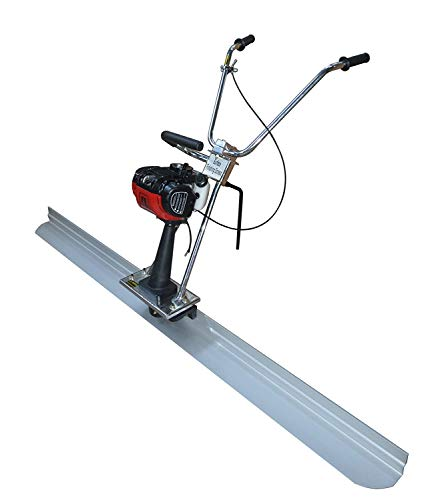 Sale!! INTBUYING 6.5ft Board Concrete Power Vibrating Screed 4 stroke Engine Cement