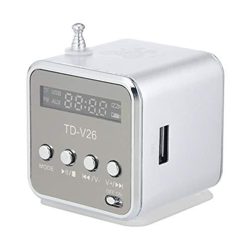 Docooler Mini Altavoz con Cable de 3.5 mm Reproductor de MP3 portátil...