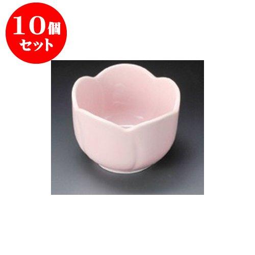 10個セット 珍味 ピンク梅型珍味 [6 x 4cm] 【料亭 旅館 和食器 飲食店 業務用 器 食器】