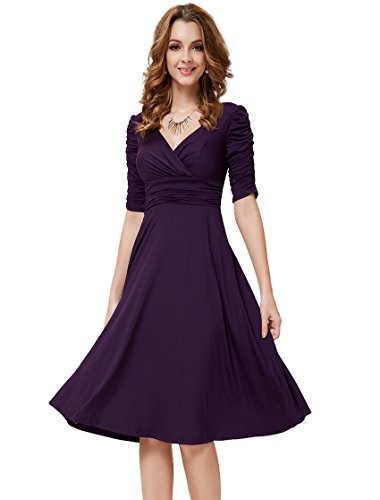 Ever-Pretty HE03632PP12, Purple, 10US, Junior Dresses For Special Occasion 03632