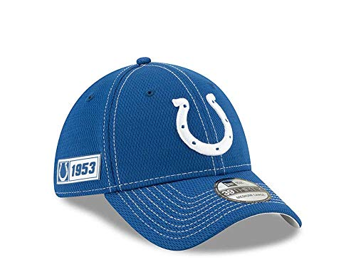New Era Indianapolis Colts Sideline Cap 2019 Road 39Thirty - NFL Kappe