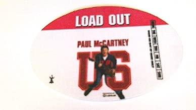 2005 Paul Mccartney Backstage Pass U.s. Tour Beatles Load Out Pink