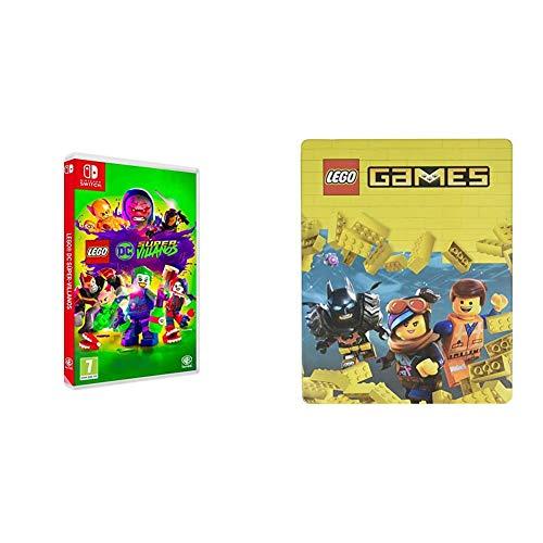 Lego DC Super-Villanos Nintendo Switch, Edición Exclusiva Amazon + Steelbook Lego Games