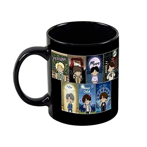 N\A Taza de cerámica de té Divertida - La Mejor Idea de BTS para Regalo