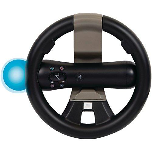 PlayStation Move and DualShock Racing Wheel