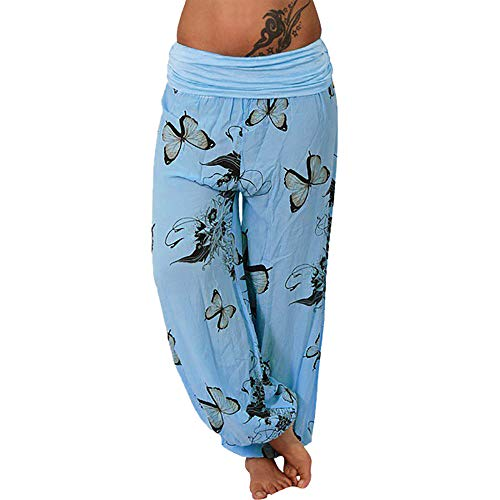 YCQUE - Angel-Bekleidung für Mädchen in Blau, Größe M