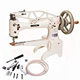 YEQIN Leather Patcher Industrial Sewing Machine Shoe Repair Boot Patch Single Needle Hand Crank DIY Head Only #2972B