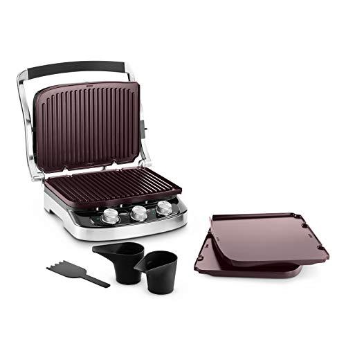 DeLonghi 0179415016Contact Grill, Stahl/schwarz