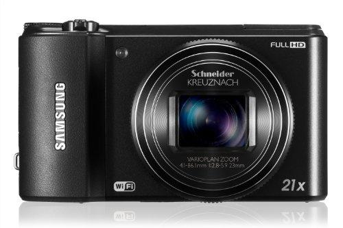Samsung WB850F 16 MP Smart Long Zoom Digital Camera - Black EC (WB850FBPBUS)