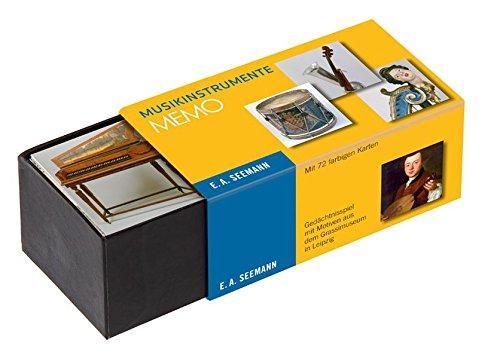 Musikinstrumente. Memo: Gedächtnisspiel mit Motiven aus dem Grassimuseum in Leipzig