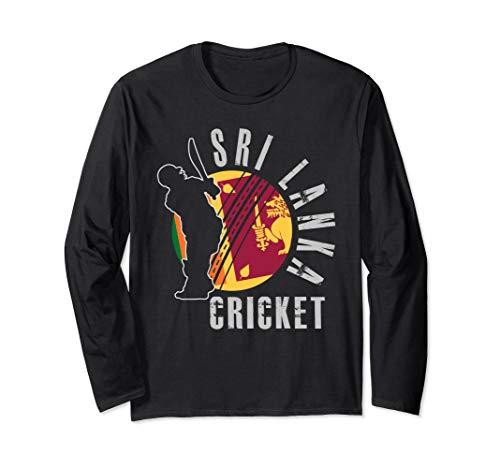 Sri Lanka Cricket Team Support Design Gift Langarmshirt