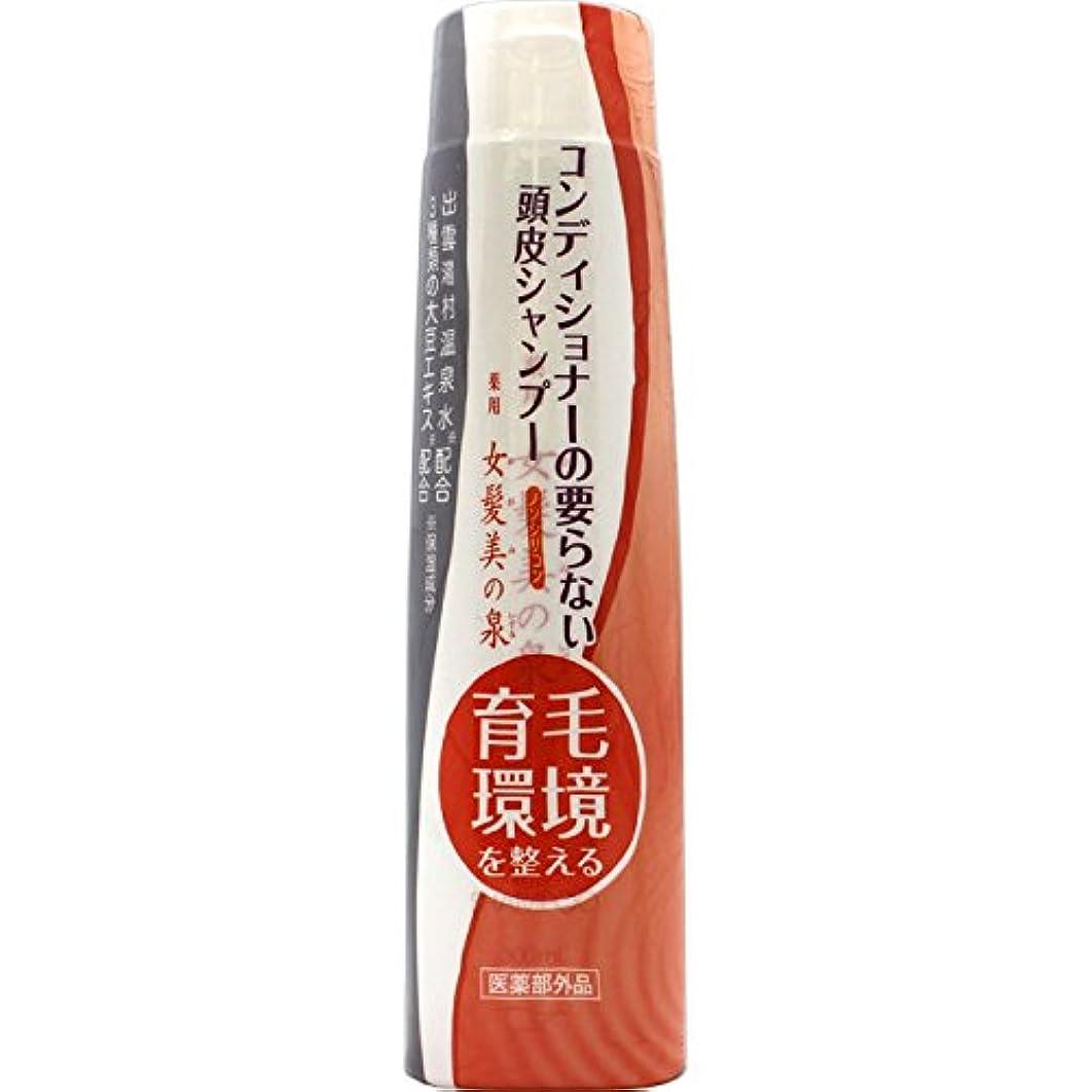 退化する安定したインシデント薬用 女髪美の泉 シャンプー300ml×6