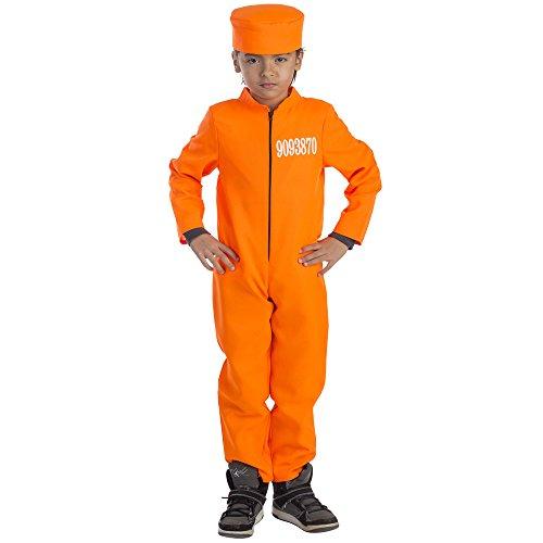 Dress Up America Costume de prisonnier pour enfant
