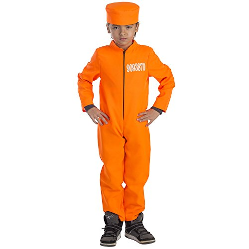 Dress Up America Costume de prisonnier pour enfant