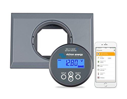 VICTRON ENERGY BMV-712 Smart Batterie Moniteur Bluetooth Intérieur et Boîtier pour Fixer - BAM030712000R & ASS050500000