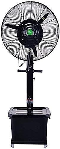 GONGFF Ventilador de enfriamiento de Ahorro de energía para el hogar - Ventilador de nebulización de enfriamiento oscilante Grande para la Industria al Aire Libre