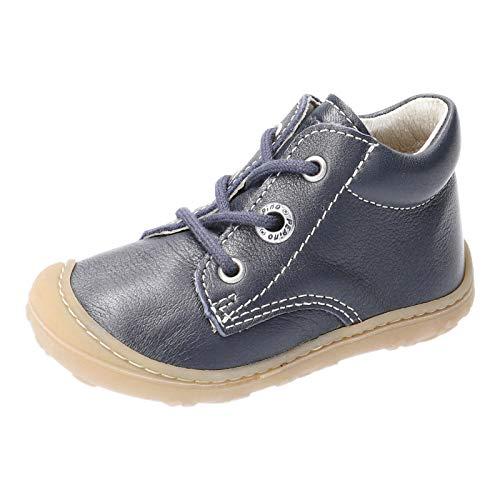 RICOSTA Unisex - Kinder Lauflern Schuhe Cory von Pepino, Weite: Mittel (WMS), Kids junior Kleinkinder Kinder-Schuhe toben,Nautic,20 EU / 4 Child UK