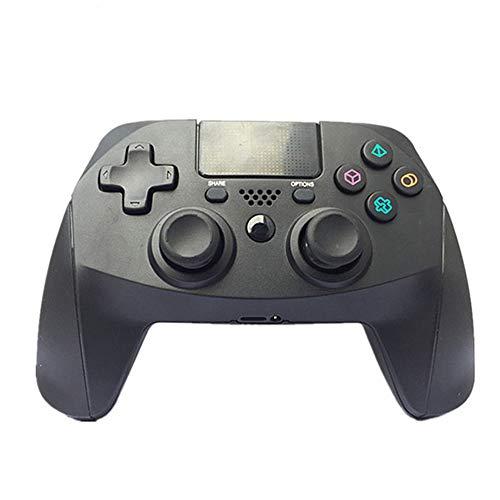 VAWA Manette de jeu sans fil pour Playstation 4/PS4 Slim/PS 4 Pro/PC, Bluetooth 4.0 Double chargeur rapide avec affichage LED