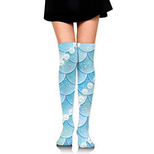 Parel Schalen Katoen Compressie Sokken voor Vrouwen Afgestudeerde Kousen voor verpleegkundigen, Zwangerschap, Reizen, Vlucht, Spataderen, Hardlopen & Fitness, Kalf Ondersteuning